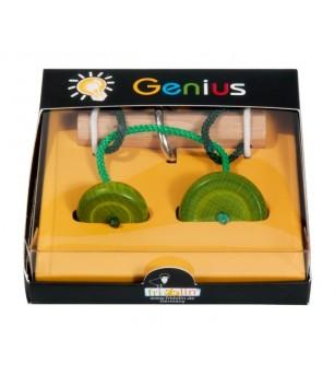 IQ Test Genius Elibereaza inelul, piese verzi - Jucării logică