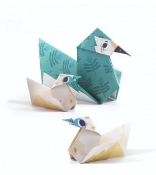 Origami Djeco, Familii de animale - Lucru manual