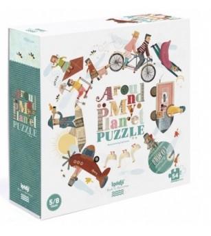 Puzzle Londji, harta lumii - Puzzle-uri