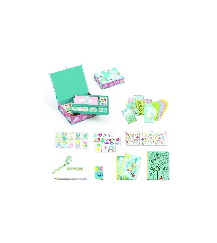 Set papetarie Djeco, Charlotte - Lucru manual