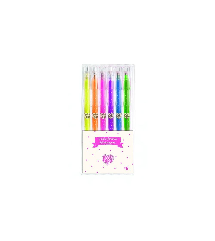 Set roll-gel Djeco, culori neon - Desen și pictură