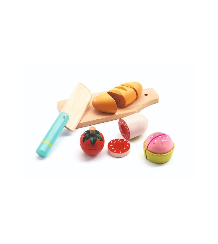Mic dejun de feliat Djeco - Jucării de lemn si Montessori