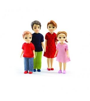 Familie Djeco, Thomas si Marion - Căsuțe de păpuși și accesorii