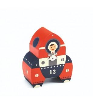 Cutie muzicala Djeco, Racheta - Instrumente muzicale