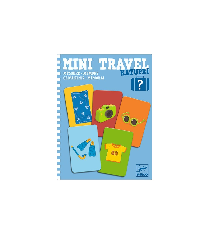 Mini travel Djeco joc de memorie - Jocuri de memorie și asociere