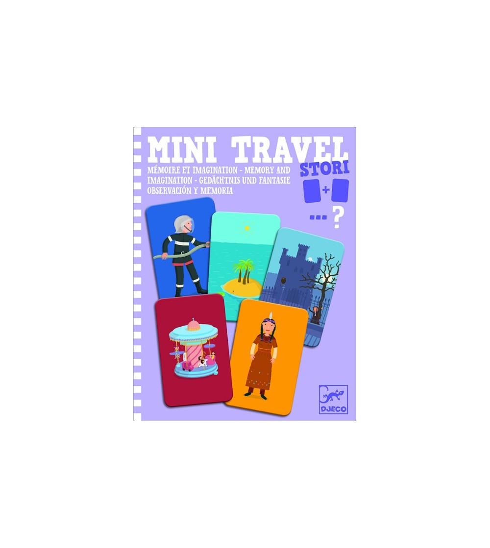 Mini travel Djeco joc de memorie si imaginatie - Jocuri de memorie și asociere