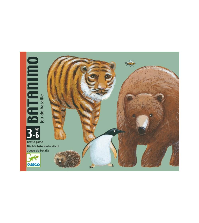 Joc de carti Djeco Batanimo - Jocuri de masă