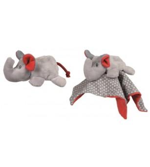 Jucarie din textil pentru bebe, elefant pop-up Egmont - Jucării bebeluși