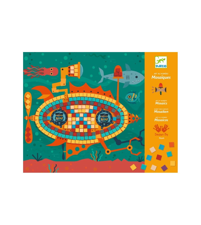 Mozaic Djeco, La volan - Lucru manual