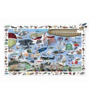Puzzle Djeco Aero Club - Puzzle-uri