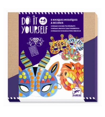 Set DIY Djeco, masti animale - Lucru manual