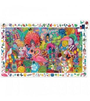 Puzzle observatie Djeco Carnavalul de la Rio - Puzzle-uri