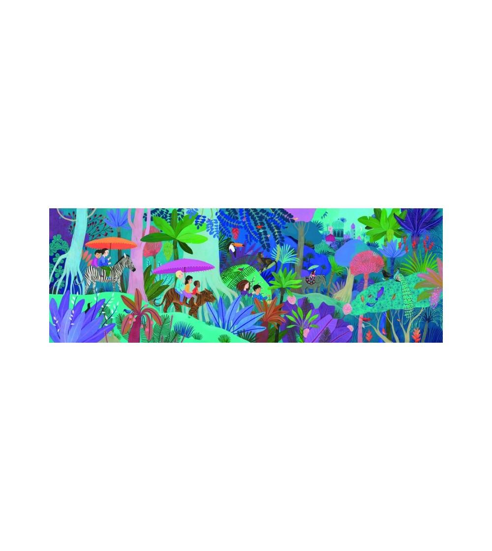 Puzzle Djeco Plimbarea copiilor, 200 pcs - Puzzle-uri