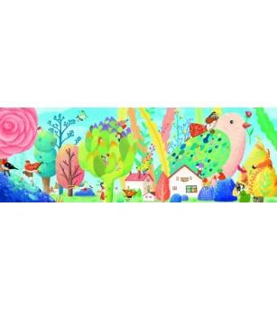Puzzle Djeco Miss Birdy 350 pcs - Puzzle-uri
