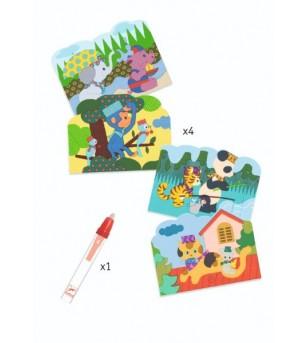 Set Djeco pictura cu apa, Joaca in natura - Desen și pictură