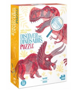Puzzle Londji, Descopera dinozaurii - Puzzle-uri
