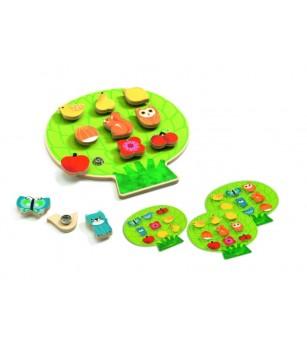 Joc motoric cu capse ClipaBoa Djeco - Jucării de lemn si Montessori