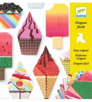 Origami Djeco, inghetata - Lucru manual