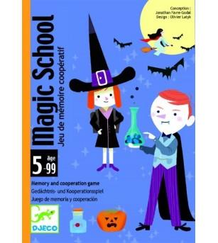 Joc de carti Djeco scoala de magie - Jocuri de memorie și asociere