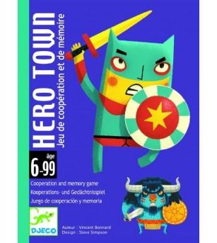 Joc de carti Djeco Orasul eroilor - Jocuri de memorie și asociere