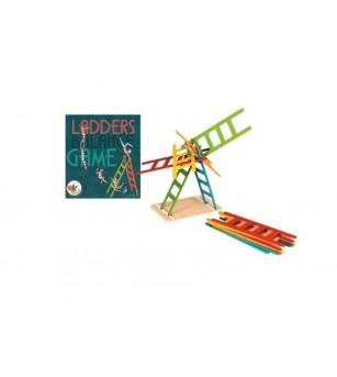 Joc de echilibru Egmont, scari colorate - Jucării de lemn si Montessori