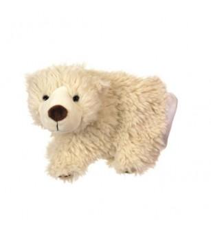 Papusa de mana urs polar - Marionete