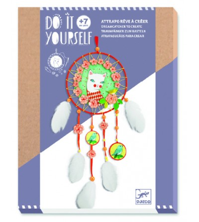 Set DIY Djeco, Arlecat dreamcatcher - Lucru manual