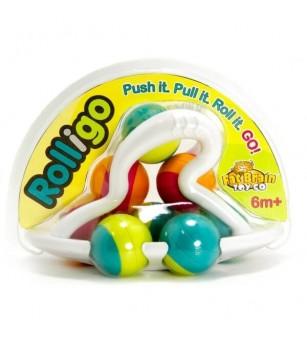 Jucarie distractiva cu bile Rollio Fat Brain Toys - Jucării bebeluși