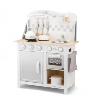 Bucatarie Bon appetit Deluxe Alb/Argintiu - Bucătărie