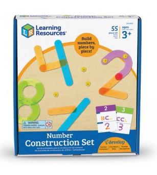 Sa construim cifrele! - Jucării matematică