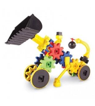 Set de constructie - Gears! Primul meu buldozer - Jocuri construcție