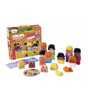 Joc de construit Family Diversity - Miniland - Jucării creativ-educative