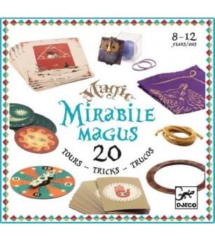 Colectia magica Djeco Mirable Magus, 20 de trucuri de magie - Set magie copii