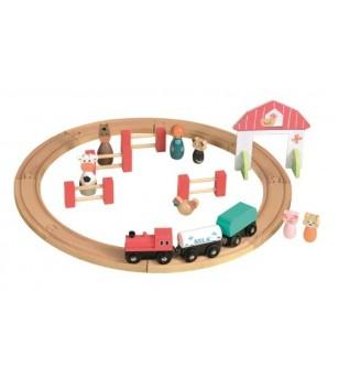 Circuit Tren si Figurine Egmont - Vehicule de jucărie