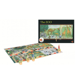 Joc Egmont, Animale si culori la zoo