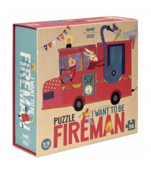 Puzzle Londji, Pompieri - Puzzle-uri