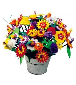 Set creativ - Buchetul de flori - Lucru manual