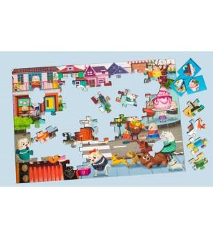 Puzzle cu surprize - Helpfilli 100 piese - Puzzle-uri