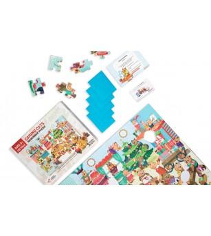 Puzzle cu surprize - Makermax 100 piese - Puzzle-uri