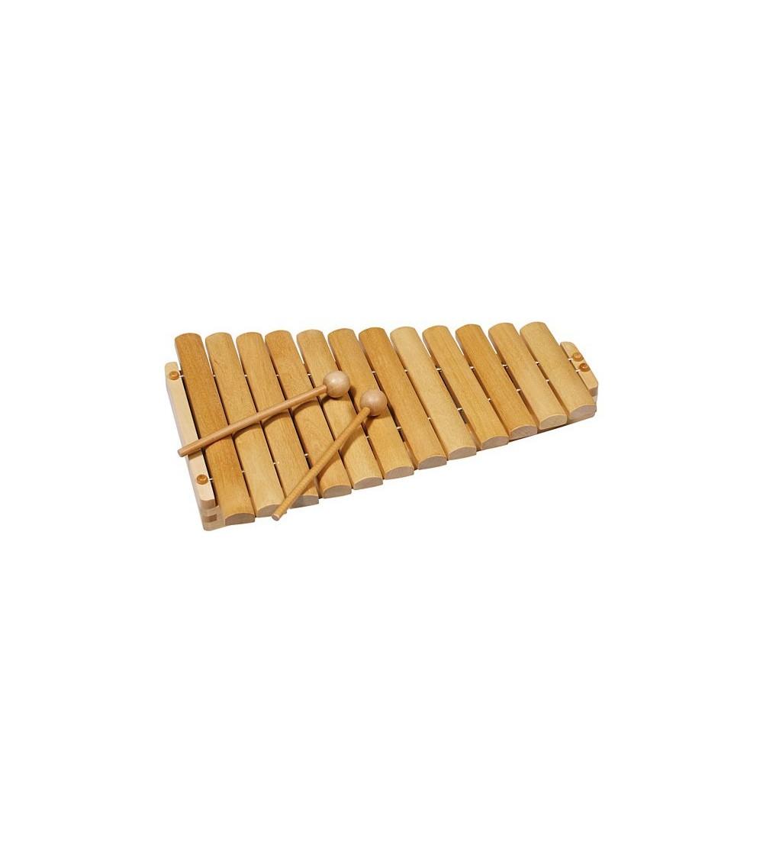 Xilofon din lemn cu 12 tonuri - Goki - Instrumente muzicale