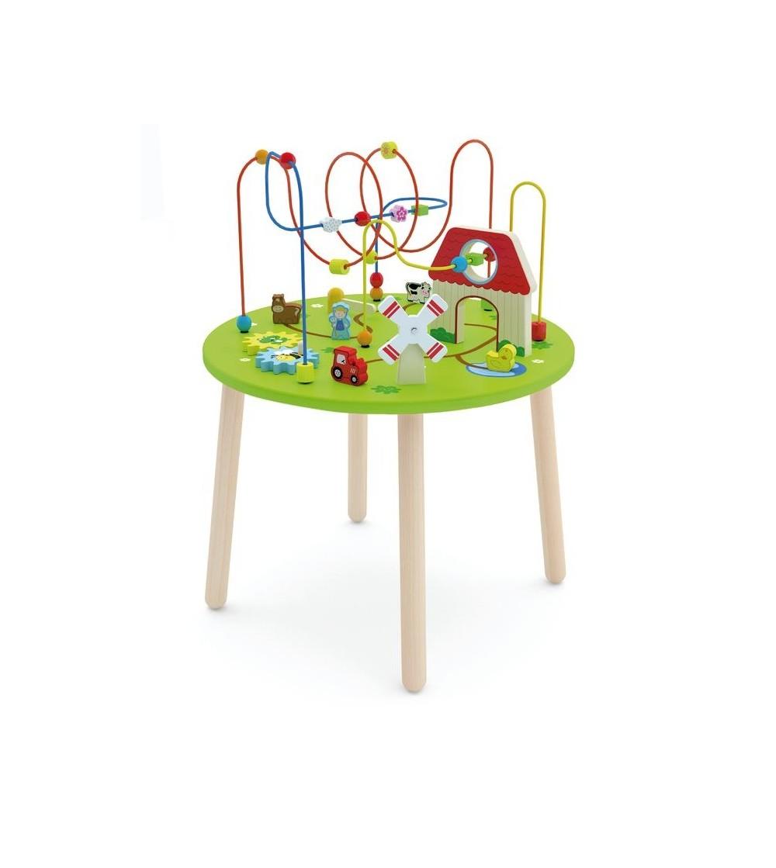 Masuta multifunctionala rollercoaster - Jucării de lemn si Montessori