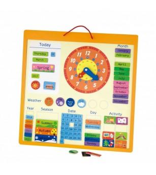 Calendar magnetic mare - Ceas și calendar