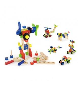 Set de constructie cu 68 de piese - Jocuri construcție