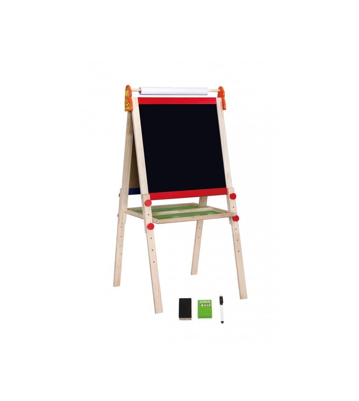 Tabla educationala dubla - magnetica si neagra, cu accesorii - Jucării creativ-educative