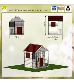Casuta de gradina Summer Adventure House (M5) - Locuri de joacă