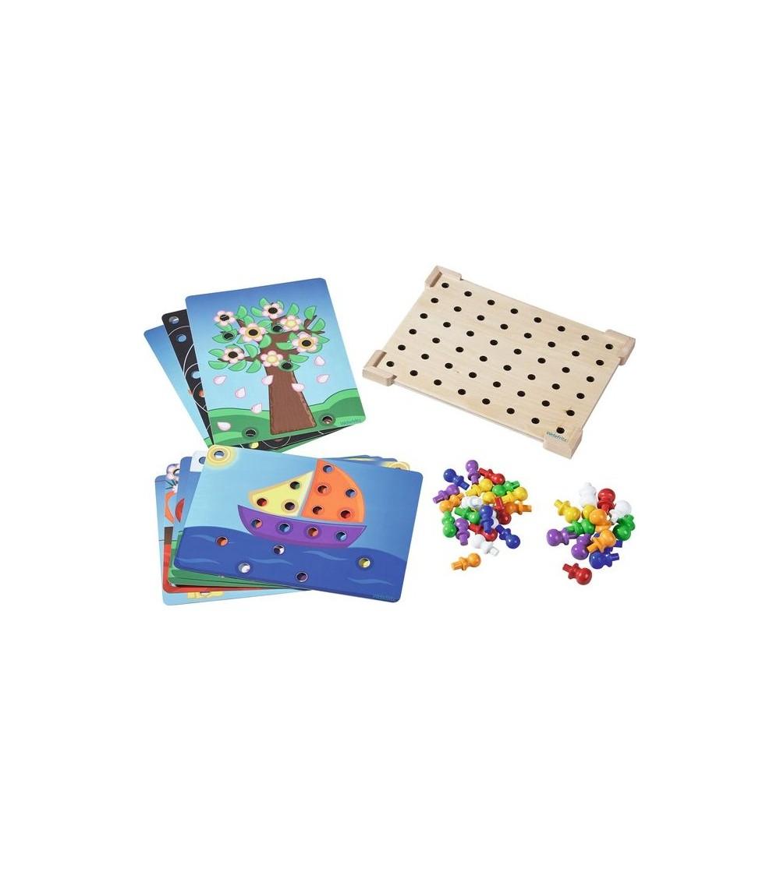 """Joc de asociere Haba Education - culori """"Coloro"""" - Jucării creativ-educative"""