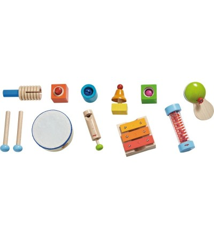 Set de jucarii muzicale, Haba - Instrumente muzicale