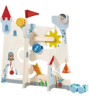 Jucarie cauza-efect si de indemenare - Castelul cavalerilor, Haba - Jucării de lemn si Montessori
