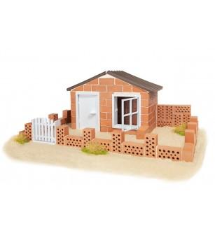 Kit de constructie Teifoc - Casa de vara - Jocuri construcție