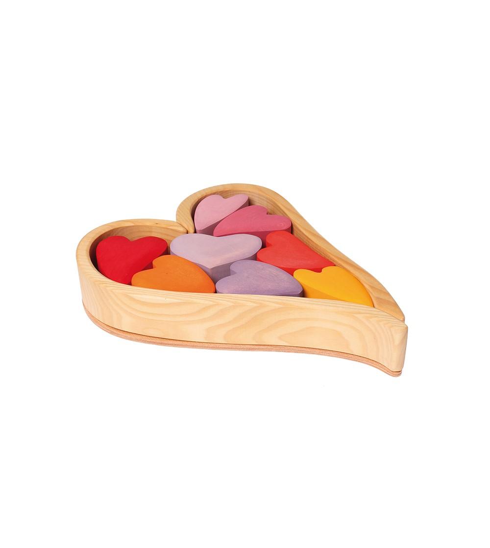 Set de inimioare - Jucării de lemn si Montessori